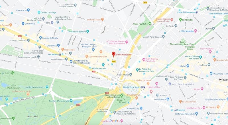 Increa Neuilly 24 rue Montrosier