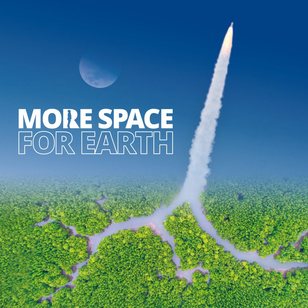 Ariane Espace. More space for earth.